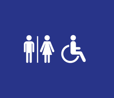 Toilets Icon to indicate location of toilets